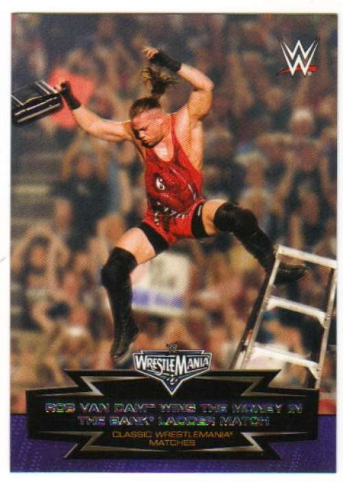 TRUBUTE à Ultimate Warrior #5 WWE Road to combat 2015 TOPPS TRADING CARD