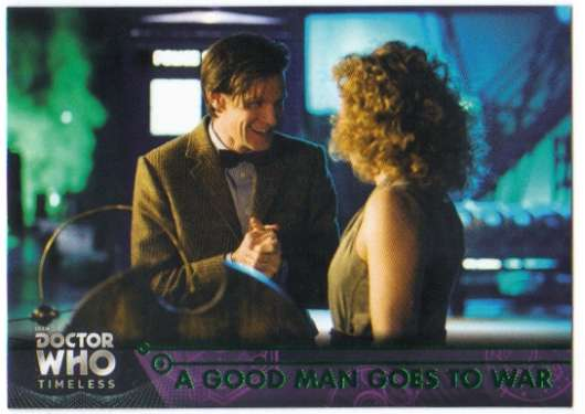 Doctor Who Timeless Green Parallel Base Card #79 A Good Man Goes to War