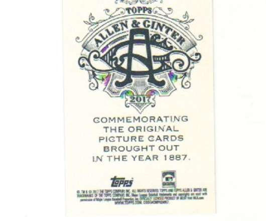 2017-Topps-Allen-amp-Ginter-Mini-A-amp-G-Back-Parallel-Cards-Choose-Card-039-s-1-350 thumbnail 143