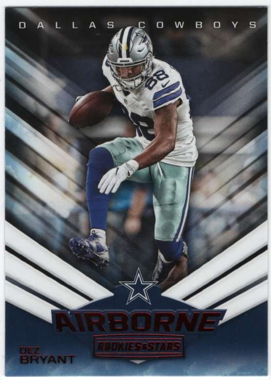 Details About 2017 Panini Rookies And Stars Airborne 2 Dez Bryant Cowboys