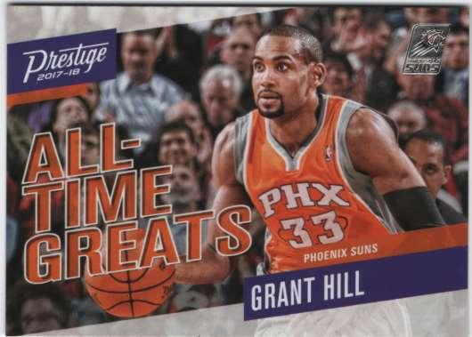2017-18 Prestige de todos los tiempos Greats #9 Grant Hill
