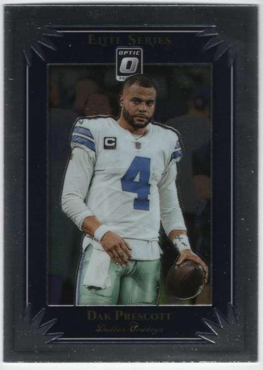 2019 Donruss The Elite Series #10 Dak Prescott Dallas Cowboys Football Card
